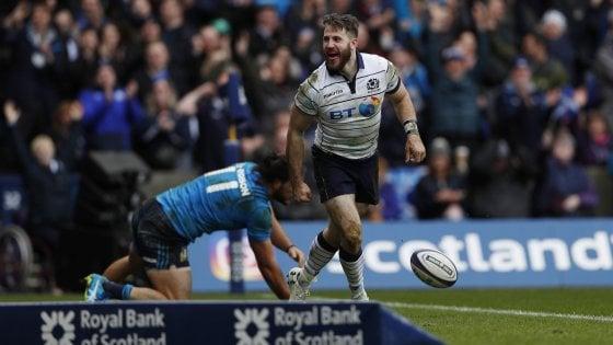 Rugby, Sei Nazioni: l'Italia chiude con un altro ko, in Scozia arriva la quinta sconfitta