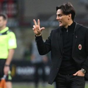 """Milan, Montella: """"Se continuiamo così arriveremo in Europa"""""""