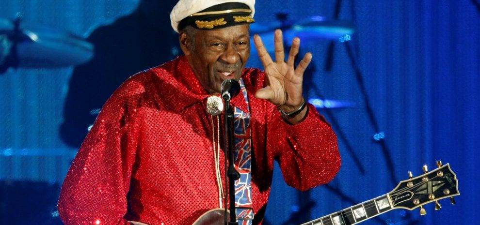 Addio Chuck Berry, pioniere del rock: aveva 90 anni