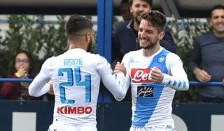 Empoli-Napoli 2-3: Insigne e Mertens lanciano gli azzurri, i toscani sfiorano la clamorosa rimonta