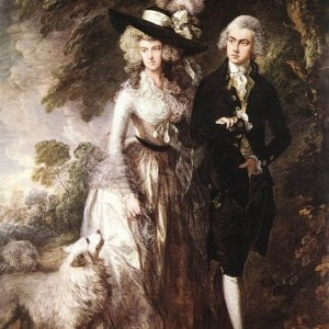 National Gallery, sfregiato capolavoro di Gainsborough davanti alla folla