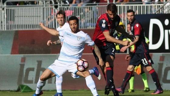 Cagliari-Lazio 0-0: frenata Champions per i biancocelesti