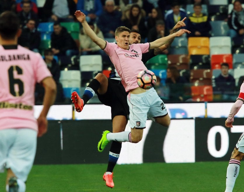 Udinese-Palermo, il film della partita