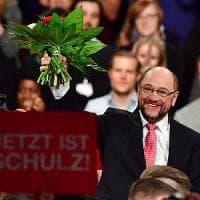 Schulz presidente Spd col 100% dei voti: