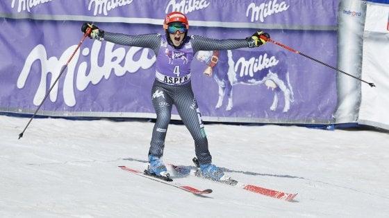 Sci, Brignone vince il gigante femminile di Aspen: podio tutto italiano con Goggia e Bassino
