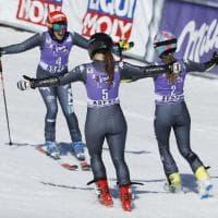 Sci, trionfo azzurro nel gigante di Aspen: vince Brignone, sul podio anche Goggia e Bassino