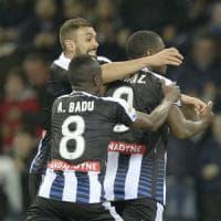 Le pagelle di Udinese-Palermo: Zapata domina, Nestorovski è troppo solo