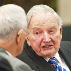 È morto David Rockefeller, il banchiere aveva 101 anni