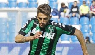 """Inter, tentazione Berardi ma il Sassuolo alza il prezzo: """"Servono almeno 40 milioni"""""""