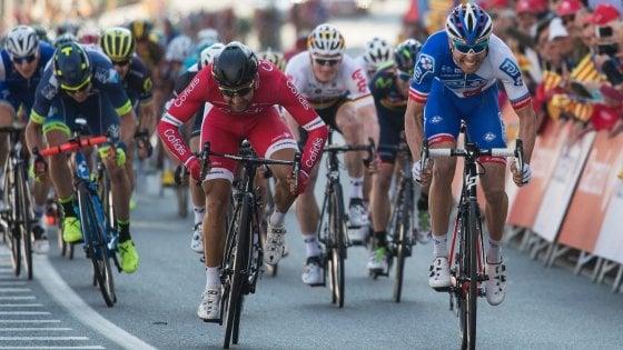 Ciclismo, Giro di Catalogna: prima tappa a Cimolai, battuto allo sprint Bouhanni