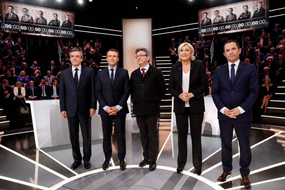 Elezioni Francia, primo dibattito tv: tutti i candidati da Le Pen a Macron