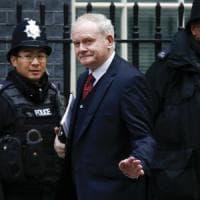 Irlanda del Nord, è morto l'ex leader dell'Ira ed ex vicepremier Martin McGuinness