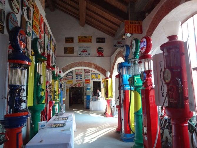 Distributori di carburante, la storia al Museo Fisogni