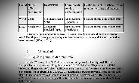 """Il Garante diffida la Tre e Wind: """"Basta musica e chat gratis ai clienti senza più traffico"""""""