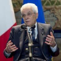 """Mattarella: """"Europa incerta e ripiegata, serve coraggio"""""""
