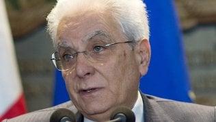 Mattarella: no alla disgregazione dellEuropa, da soli non si va lontano