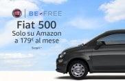 Fiat 500, noleggio con un clic su Amazon