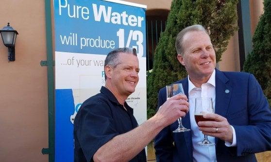 La birra più sostenibile si fa con l'acqua riciclata (si, proprio quella delle toilette)
