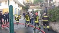 Sanremo, incendio in una palazzina, due morti