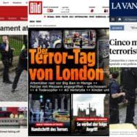 Attacco a Westminster, la notizia sui siti stranieri