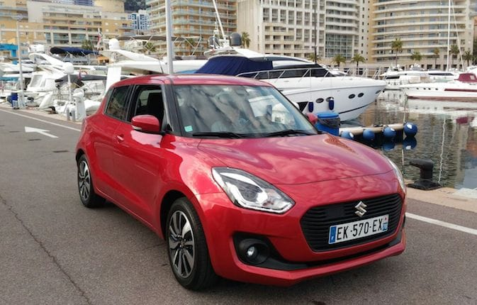 Nuova Suzuki Swift: la compatta sportiva seduce Monte Carlo
