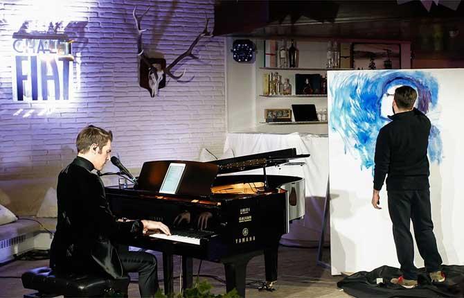 """Fiat tra musica e arte con il tour """"S'ignora"""""""