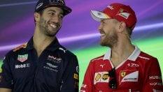 """Vettel: """"Ferrari c'è, ma il favorito resta Hamilton"""""""