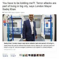 "Attacco a Westminster, Trump Jr. attacca il sindaco di Londra: ""Mi stai prendendo in giro?"""