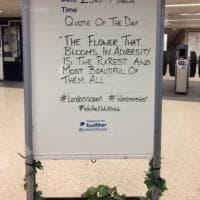 Attacco a Westminster, nel metrò una citazione Disney contro il terrorismo