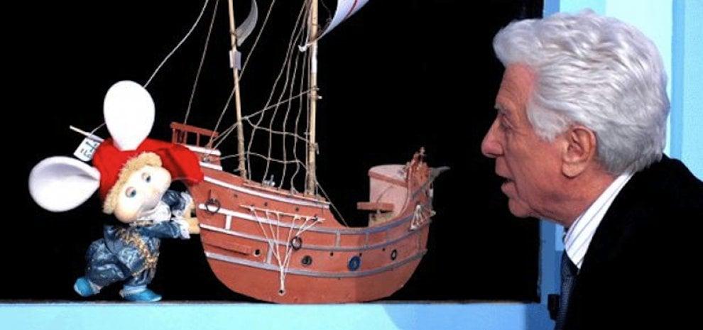 È morto Cino Tortorella: il suo mago Zurlì fece sognare i bambini