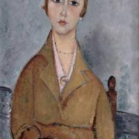 Modigliani a Genova, le opere