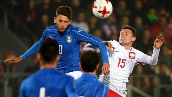 Under 21, Polonia-Italia 1-2: amichevole decisa da Pellegrini e Benassi