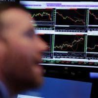 Borse europee in lieve calo dopo la frenata di Wall Street