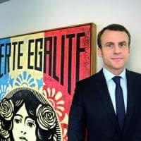 """Emmanuel Macron: """"La mia sfida contro tutte le chiusure, non ho paura di difendere..."""