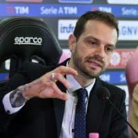 Palermo, Baccaglini e la salvezza: ''Girare la chiave e accendere il motore''