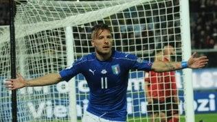 Italia batte Albania 2-0 pagelle.Decidono De Rossi e Immobile