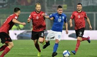 Le pagelle di Italia-Albania: Verratti padrone del centrocampo, Roshi inesauribile