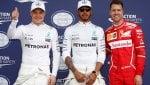 Gp Australia: in pole Hamilton, poi c'è la Ferrari di Vettel