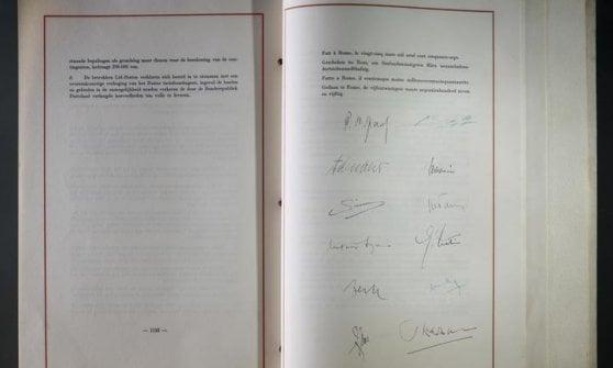 """Trattati Roma, 60 anni dopo i 27 rinnovano l'impegno: """"Ritroviamo il coraggio dei padri"""""""