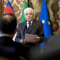 """Celebrazioni Ue, Mattarella: """"Ripensare architettura europea o rischio paralisi"""""""