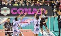Perugia pareggia il conto Con Trento semifinale sull'1-1