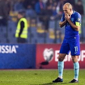 Qualificazioni Mondiali, l'Olanda cade in Bulgaria e ora rischia. Il Belgio si salva al 90' con la Grecia