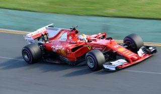 F1, Gp Australia; Vettel: ''Questa vittoria è per tutta la Ferrari''. Marchionne: ''E' solo il primo passo''