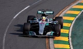 F1, Gp Australia; Hamilton: ''Congratulazioni alla Ferrari, noi tanta fatica con le gomme''
