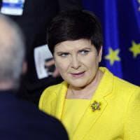 """Beata Szydlo: """"Abbiamo detto sì ma ora rispetto per i singoli Paesi"""""""