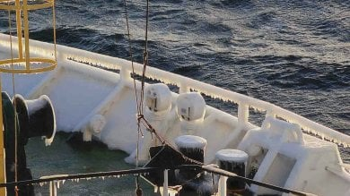 """""""La nostra missione in un'Antartide  senza più iceberg"""" /   Le immagini"""