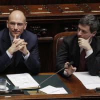 Pd, stilettata di Letta per Renzi: