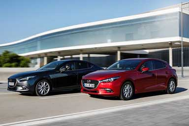 "Mazda3 model year 2017 sempre più ""Kaizen"""