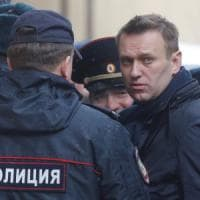 Arresto Navalny, Tweet e selfie dal tribunale del blogger anti Putin: