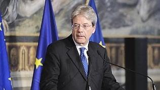 """Gentiloni: """"I vincoli Ue non sono intoccabili. Si può negoziare"""" video"""